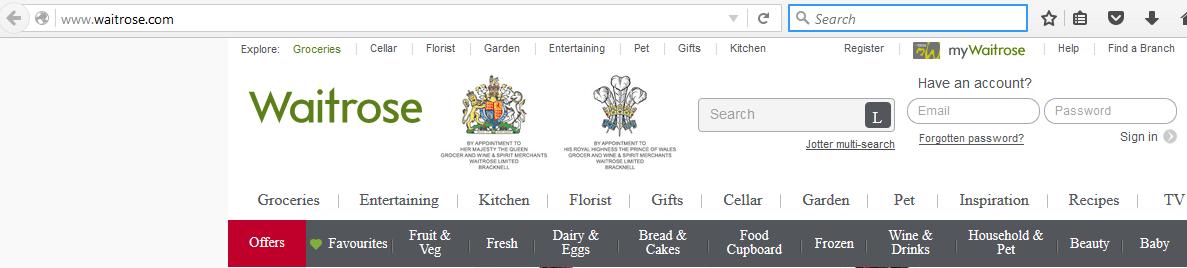 2 Waitrose page